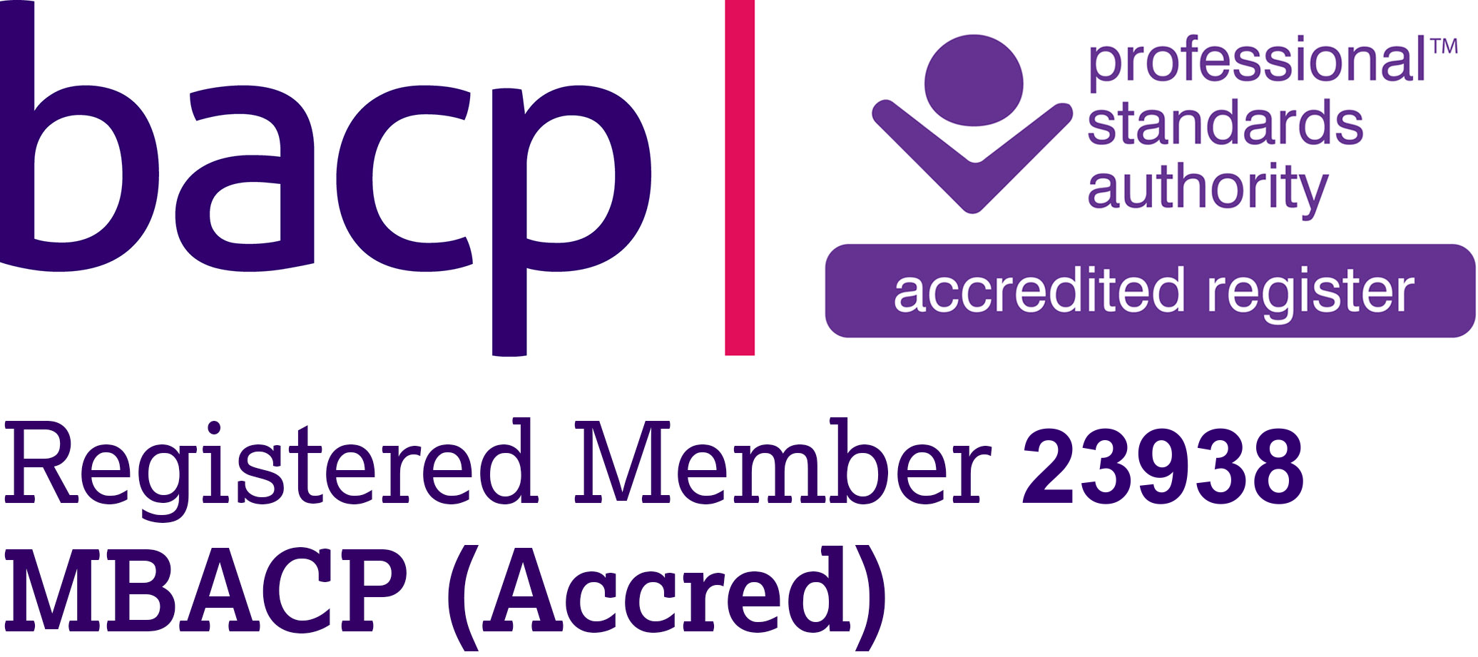 BACP Accredited Counsellor